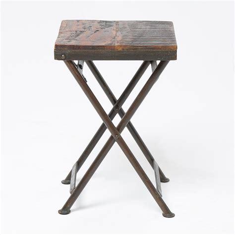 Reclaimed Wood Side Table Reclaimed Wood Stool Side Table