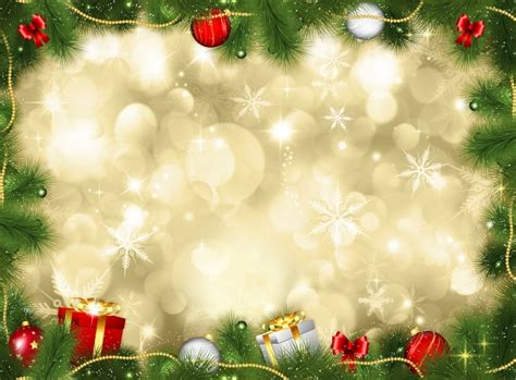 christmas background christmas background with gifts and baubles photo free