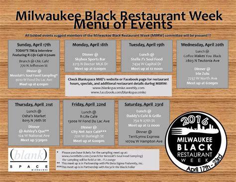 carefree boat club milwaukee blankspace presents milwaukee black restaurant week