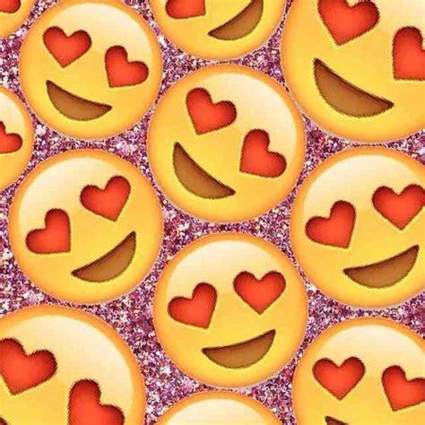 emoji wallpaper hearts emoji background uploaded by bigdaddy mi mi