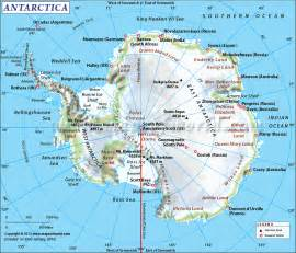 World Map Antarctica by Traveling To Antarctica Information About Antarctica
