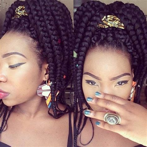 pics of big braid hairstyles 55 best big box braid hairstyles for summer of 2018 bun