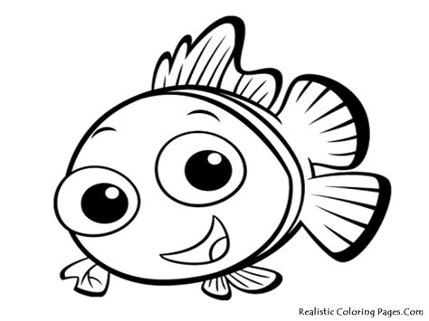 Coloring Pages Fish Nemo nemo fish coloring pages realistic coloring pages