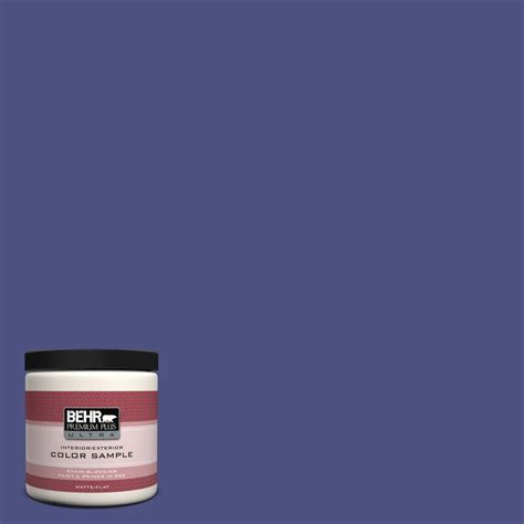 behr premium plus ultra 8 oz w b 720 oyster interior exterior paint sle w b 720u the home