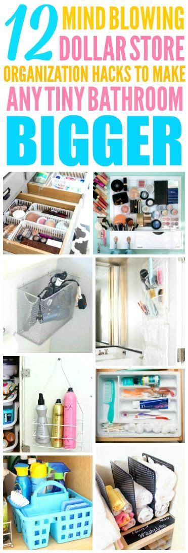 dollar store organization hacks 12 dollar store organization hacks for your small bathroom