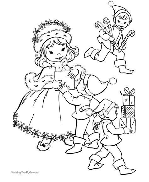 coloring pages elves santa elves coloring pages santa and his elves coloring pages
