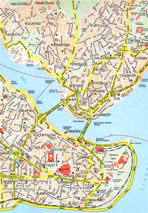 printable map istanbul map of istanbul free printable maps