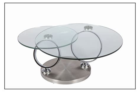 Table Basse Salon Ronde