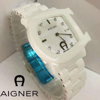 Jam Tangan Wanita Murah Aigner Keramik O1866 jam tangan aigner genua keramik