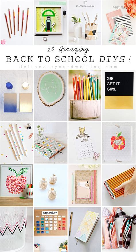 diy projects for college 20 great back to school diys recycled crafts