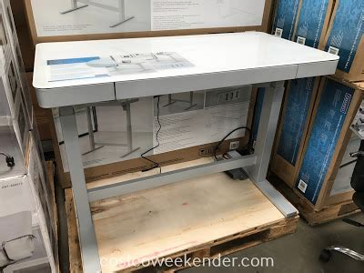 tresanti sit to stand tresanti nouveau adjustable height desk costco weekender