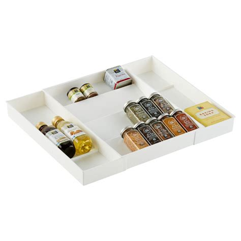 Drawer Spice Storage by Expand A Drawer Spice Organizer The Container Store