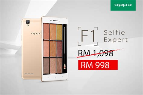 Hp Oppo F1 Malaysia oppo f1 limited time offer for raya 2016 tech arp