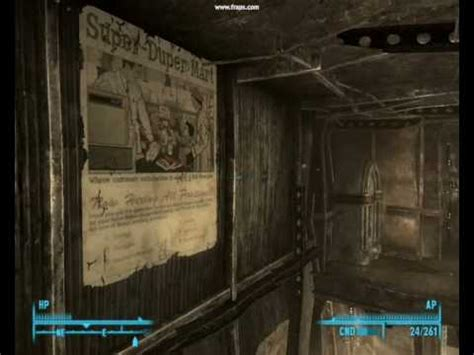 fallout 3 buying a house fallout 3 house themes megaton youtube