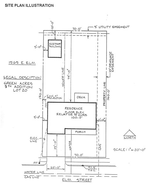 house site plan building site plan