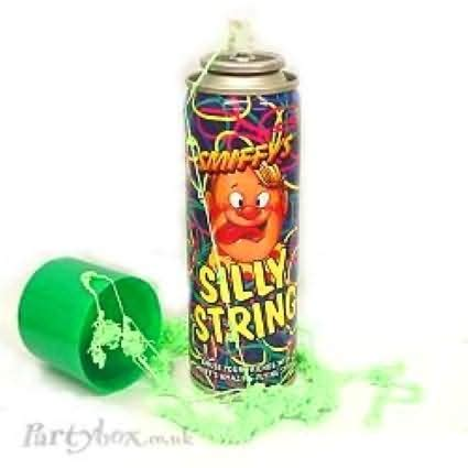 Silly String - anti ied silly string finally goes to iraq wired