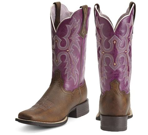 womens square toe boots ariat tombstone square toe western boot