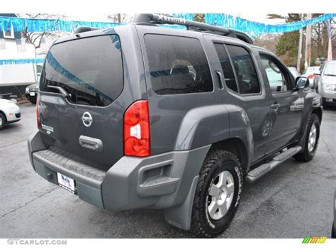 grey nissan xterra 2008 night armor dark gray nissan xterra s 4x4 74490148