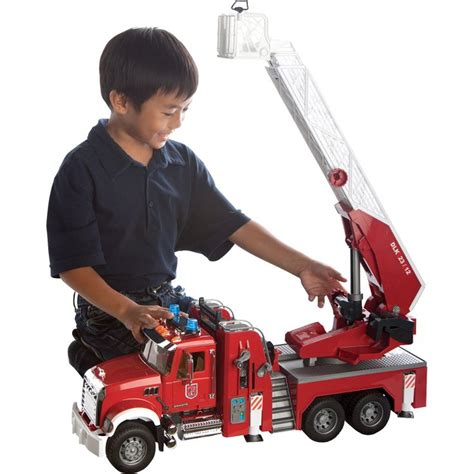 Bruder Mack Truck With Ladder And Water 17 best images about kid s outdoor toys on