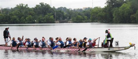 dragon boat festival eau claire wi two blugold filled teams honor loved ones at dragon boat