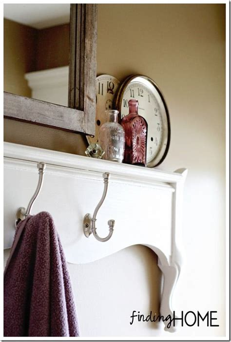 bathroom towel holder ideas bathroom decorating ideas footboard towel rack