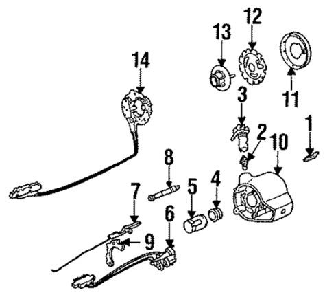 electric power steering 1987 buick skyhawk spare parts catalogs oem 1987 buick century steering column parts