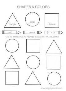 colors and shapes coloring pages colors this basic worksheet will help