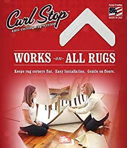 stop rug corners curling up curl stop anti curling rug system pack of 4 corners kitchen dining
