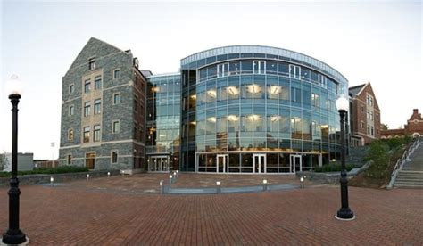 The George Washington Mba Ranking by Georgetown S Mcdonough School Of Business