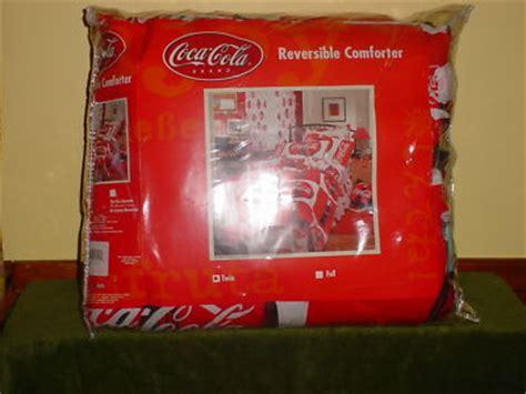 coca cola bedding coca cola comforter antique price guide details page