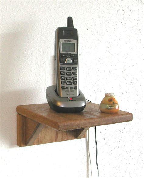 Kitchen Phone by Space Saving Phone Shelf