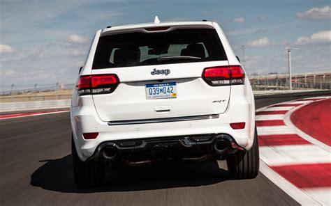jeep srt 2014 2014 jeep grand cherokee srt track drive motor trend