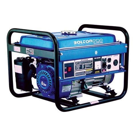 bolton pro 192012 3000w gasoline generator lowe s canada