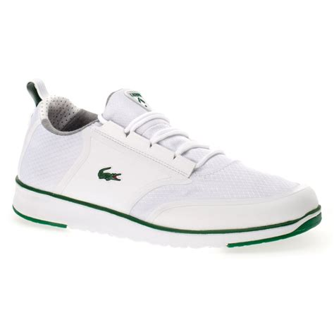 lacoste light sneakers lacoste lacoste light lt12 spm white green sc a1 mens