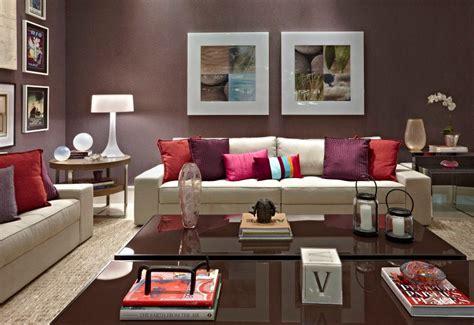 Burgundy Living Room Decor Decora 231 227 O Aconchegante Para Salas De Estar