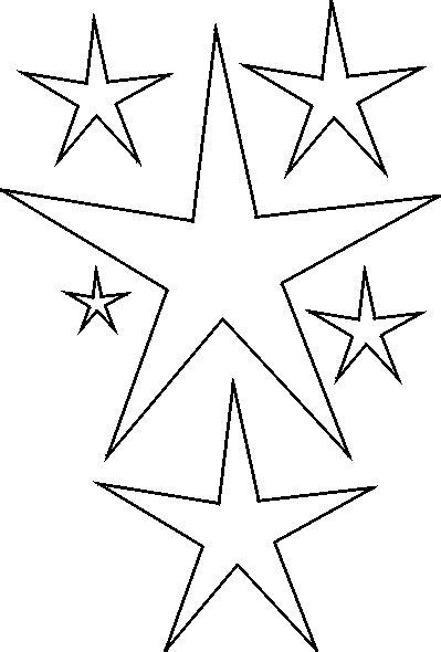 printable primitive star stencil free print primitives stencil free stencils stars