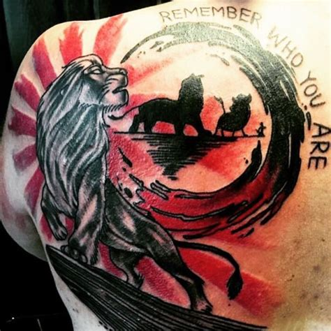 ugram film lion tattoo the lion king tattoo tattoos of games movies and