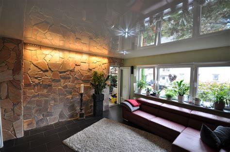 steinwände im wohnzimmer wohnzimmer steinwand design
