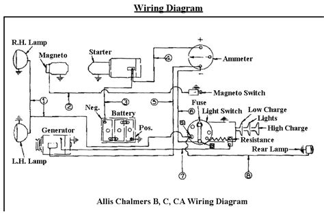 deere b tractor wiring diagram 1948 wiring diagrams
