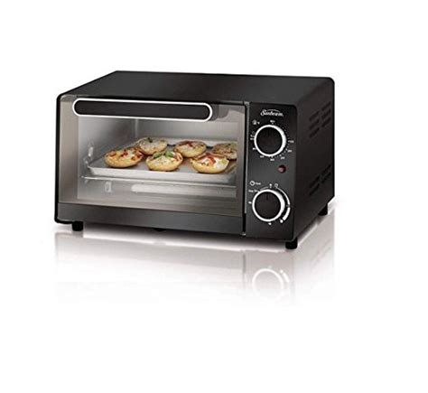 Toaster Oven With 4 Slice Toaster On Top Sunbeam 4 Slice Toaster Oven On Sale