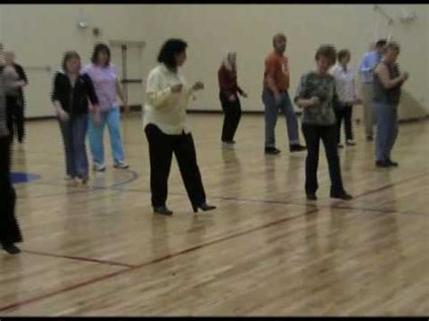 tutorial dance group line dancing group lessons 2 mar 8 2010 youtube