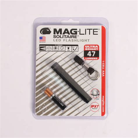 Led Touch Black maglite solitaire aaa led touch black