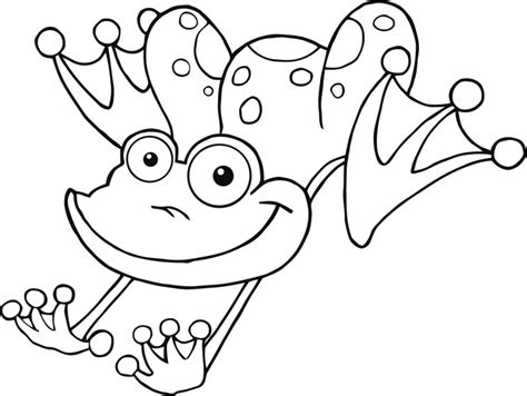jumping frog coloring page frog color pages az coloring pages