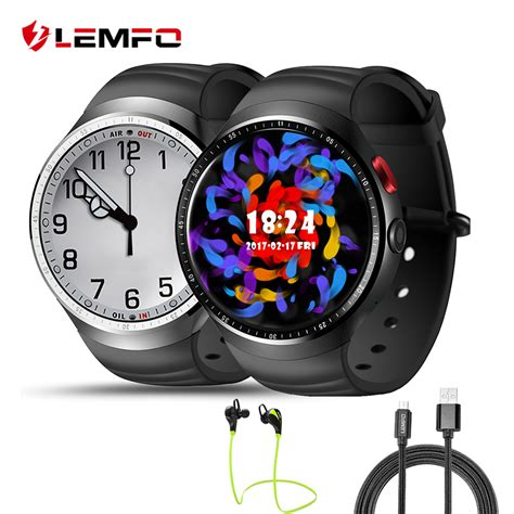 Smartwatch Lemfo Les1 lemfo les1 android smartwatch phone ram 1gb 16gb support
