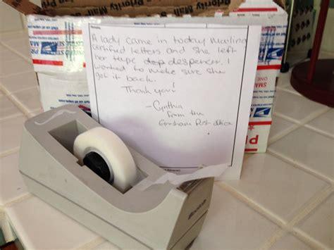random act of kindness at gresham post office dining