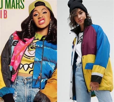 copy cardi b s 90s inspired from the bruno mars