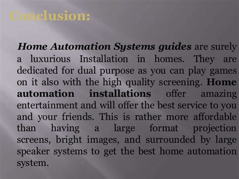 how to buy the best home automation system for the