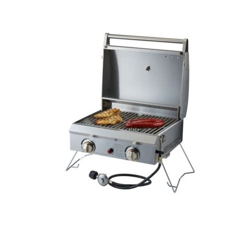 academy outdoor gourmet 5 burner gas grill outdoor gourmet stainless steel single burner gas tabletop grill modern patio outdoor