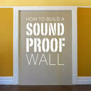 Soundproof Bedroom Door build a soundproof wall