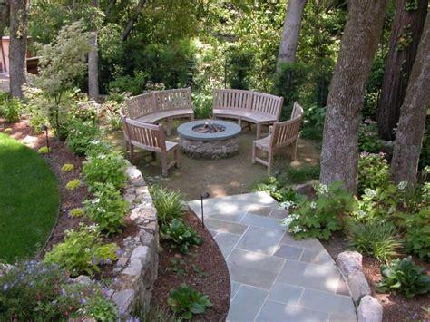garden seating awesome circular seating idea for large garden
